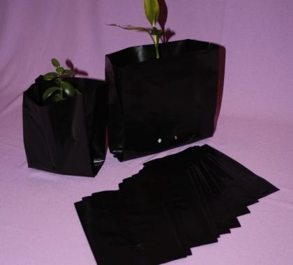 Пакет для саженцев и рассады ПВД (250+80*380) 70 мкм