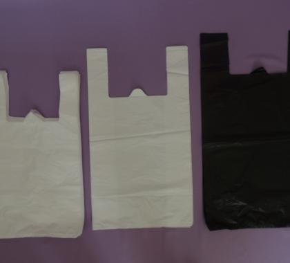 Пакет полиэтиленовый «Майка» ПНД 25+12*40,10 мкм