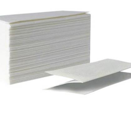 Полотенца бумажные zz сложения