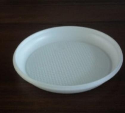 Тарелка одноразовая (ПС) д=210 мм 3-х секционная(720 шт в коробке)