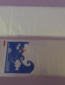 Пакет фасовочный(для рыбы) ПВД 22*55, 30 мкм