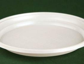 Тарелка одноразовая (ПС) д=165мм (2400 шт в коробке)