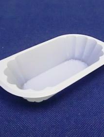 Креманка круглая прозрачная на ножке
