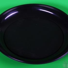 Тарелка ОДНОРАЗОВАЯ(ПП) 165 мм PLMA BLACK (1400 шт/кор)
